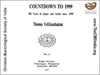 COUNTDOWN TO 1999 By Thomas Vellilamthadam
