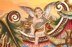 CMSI No.-007-4.4 - Angel playing a Harp