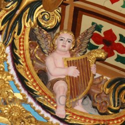 CMSI No.-007-1.11 - Angel playing a Harp
