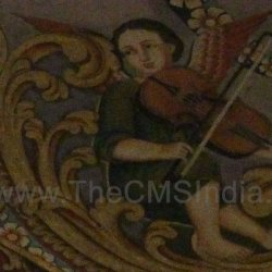 CMSI No.-007-2.19 - Angel playing a Violin