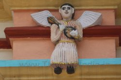 CMSI No.-007-15.1 - Angel  Playing a Mandolin