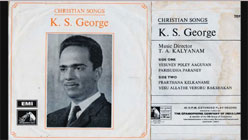 CHRISTIAN  SONGS (Malayalam) by  K. S. GEORGE