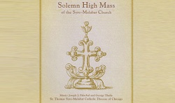 Solemn High Mass of the Syro-Malabar Church-CD