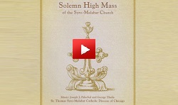Solemn High Mass  of the Syro-Malabar Church  CD (English) -youtube video