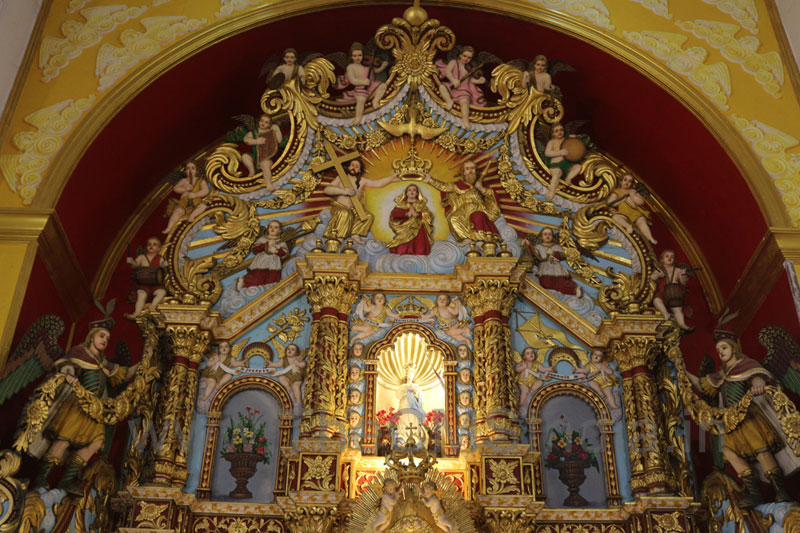 St. Mary's Forane Church, Athirampuzha-Altar