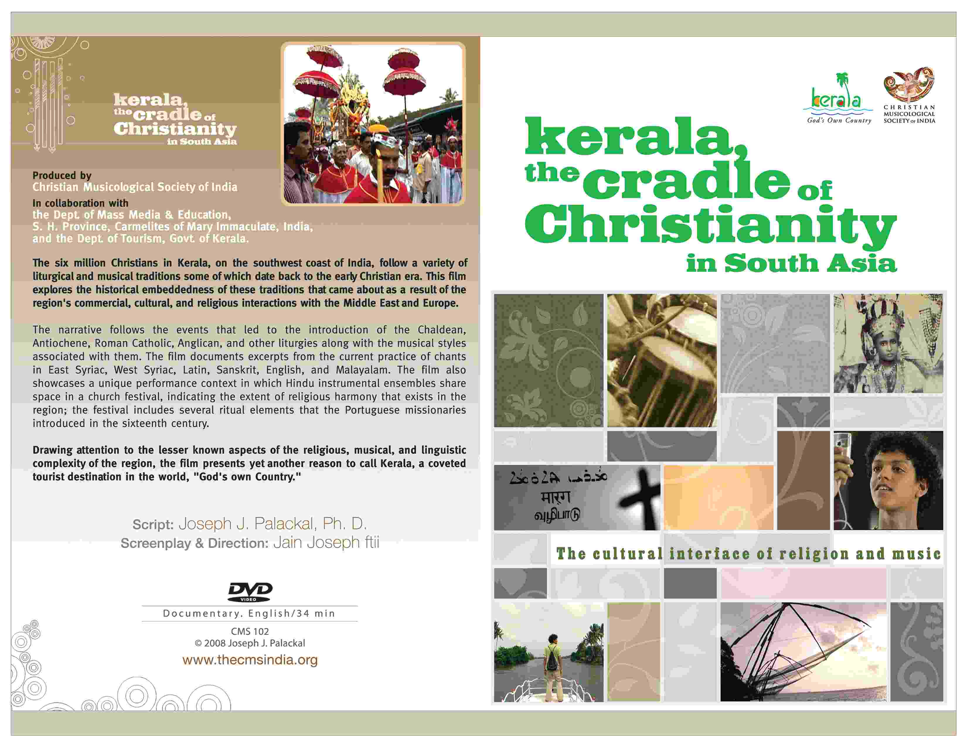 Kerala, the Cradle of Christianity in South Asia-(DVD)