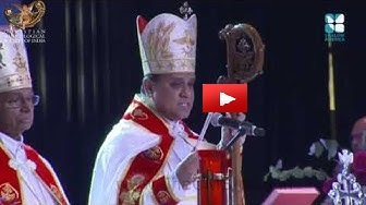 Bishop Joy Alappatt acknowledges Dr. Joseph J. Palackal